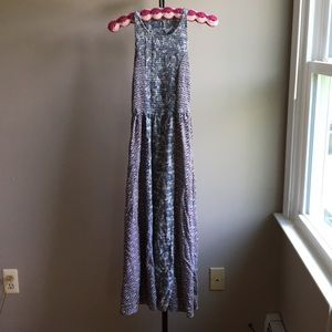 🍷Japna Mixed Print Midi Dress Size Small